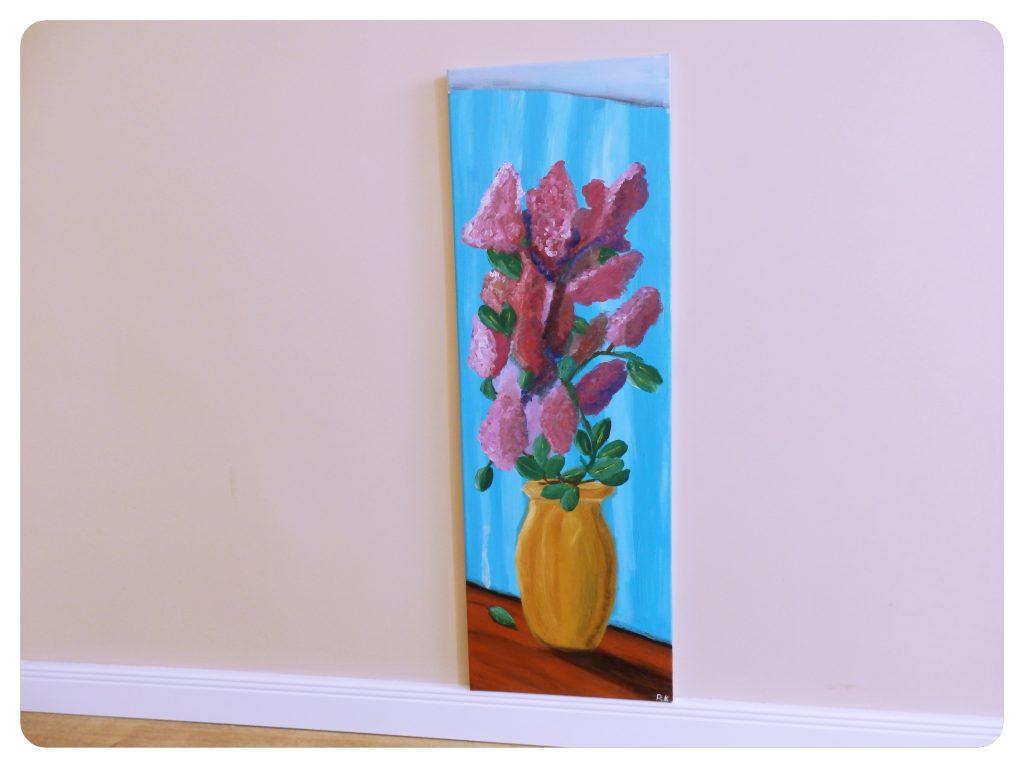 Váza s orgovánom ~ Vase with lilac flowers