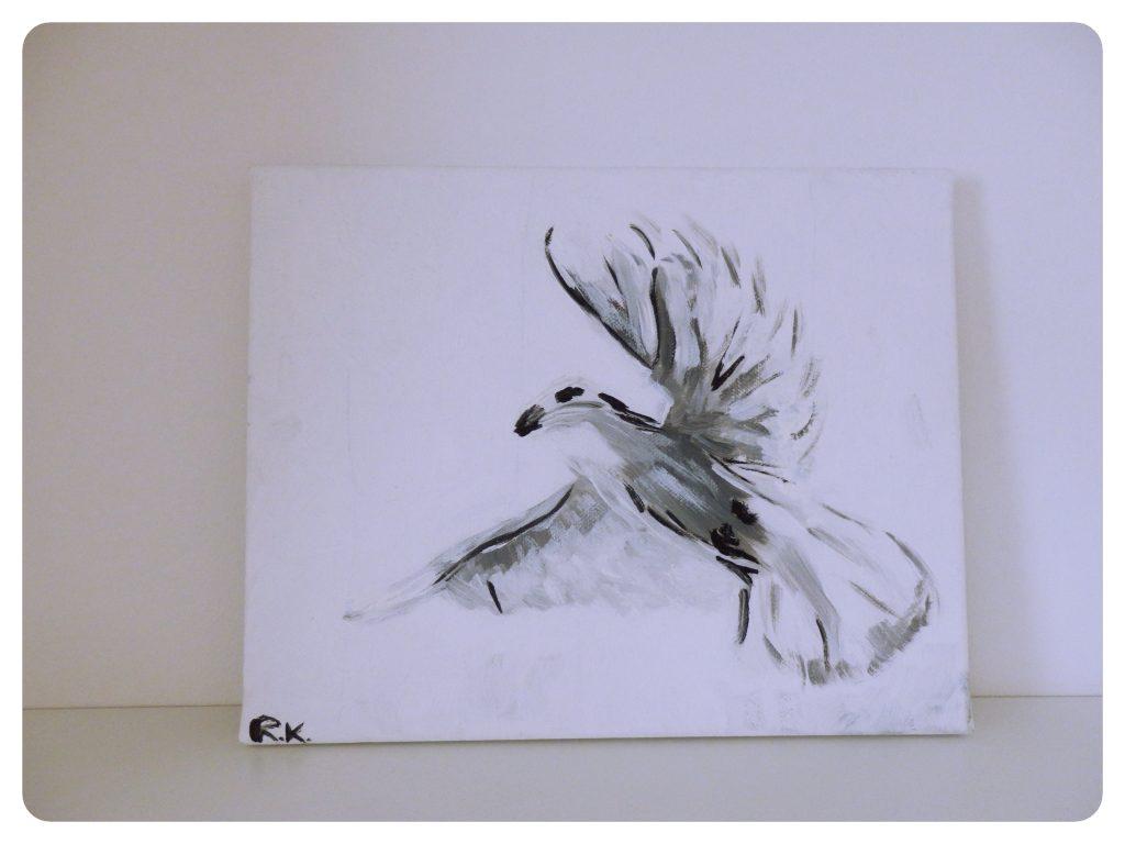 Biela holubica ~ White dove