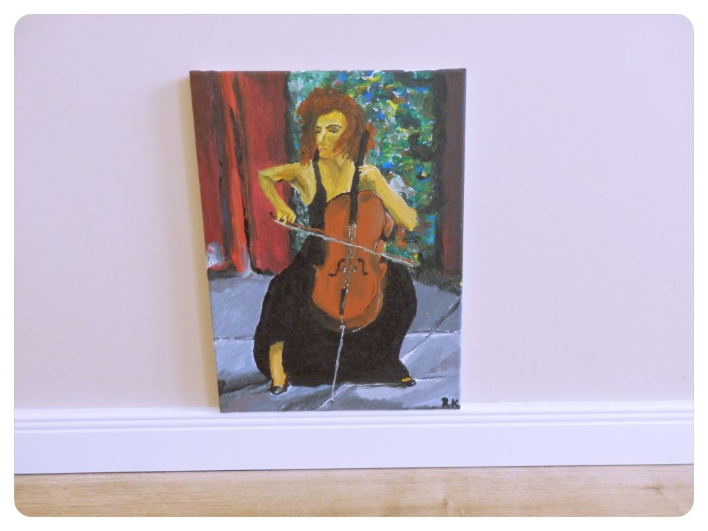Čellistka ~ The Cello player