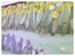 Jar na zámockej záhrade ~ Spring in the garden of a castle