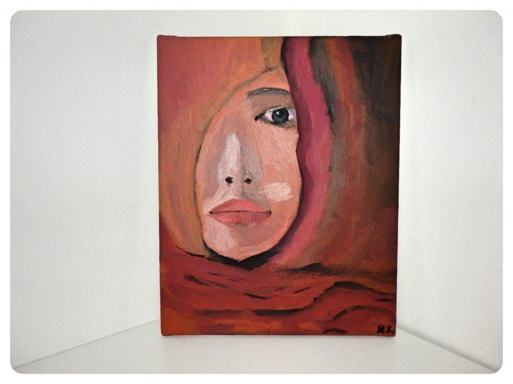 Žena spoza závoja ~ Woman behind a veil