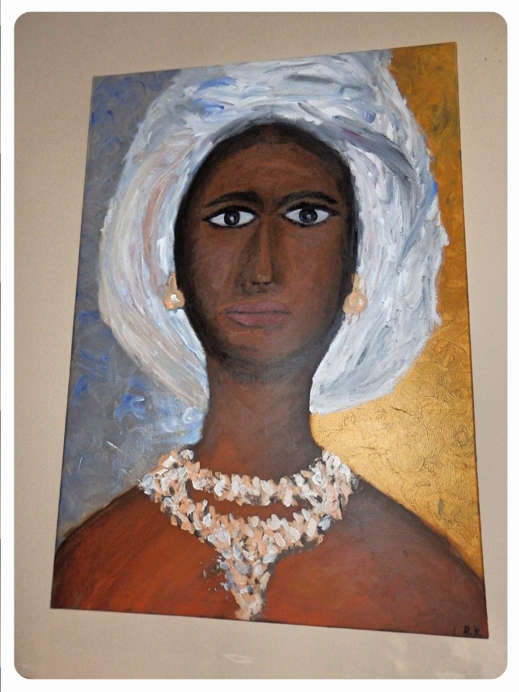 Čierna dáma v turbane ~ Black woman in turban