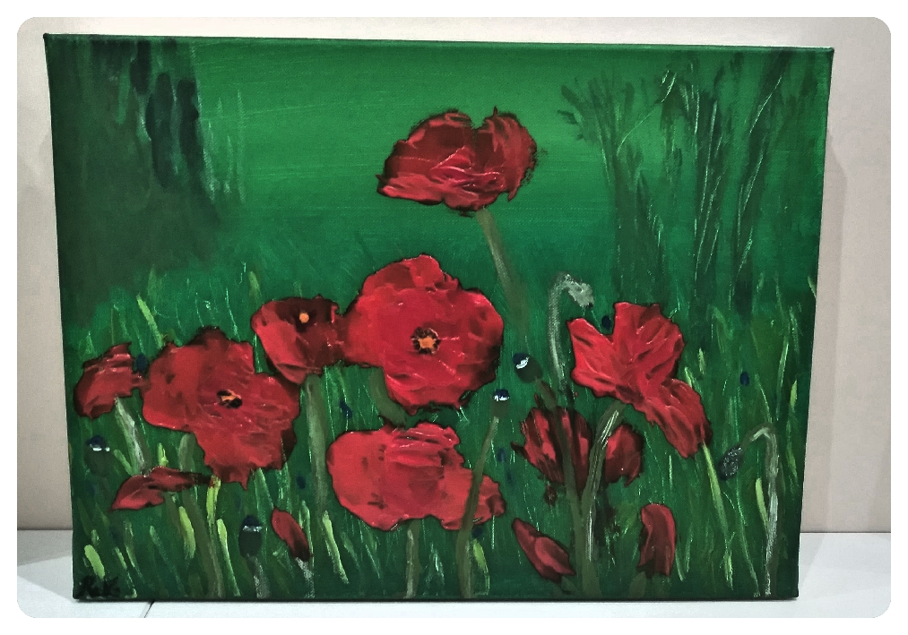 Maky ~ Field poppies